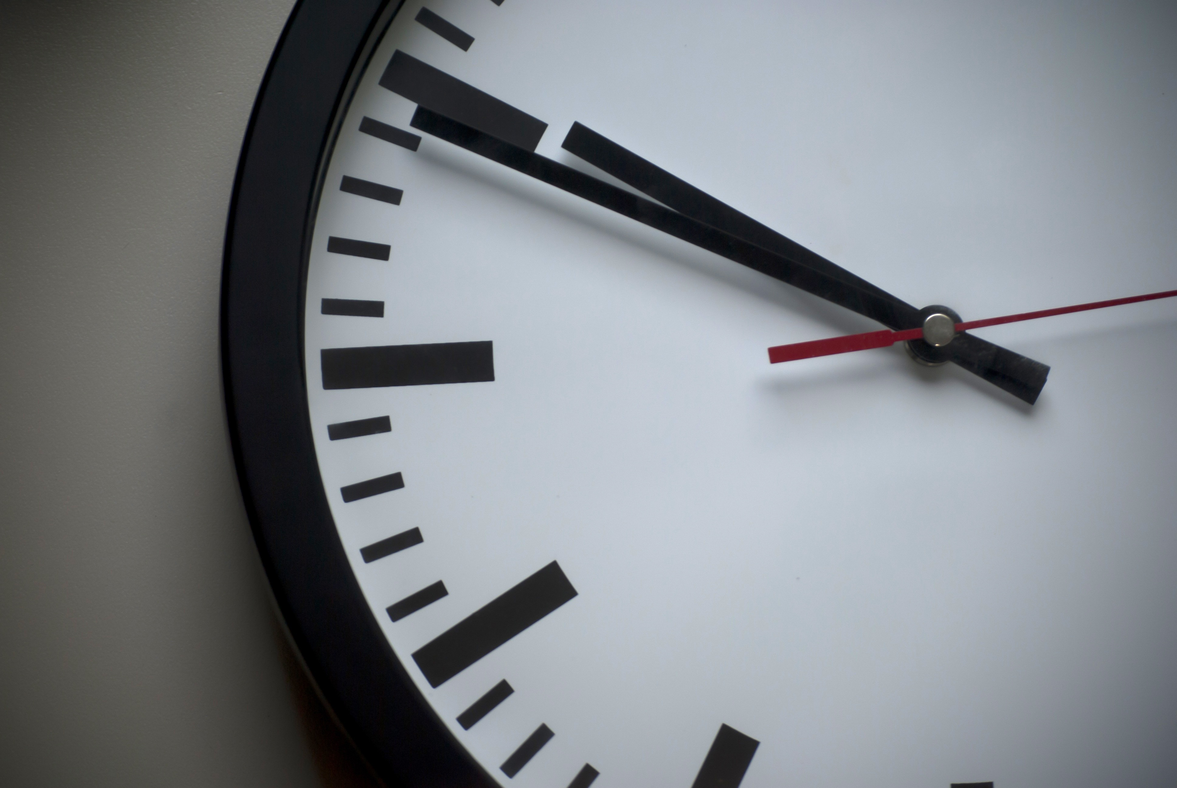 close up of a clock representing delayed claim
